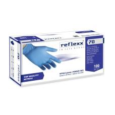 RUKAVICE NITRILE NEPUDRANE REFLEXX 70 100/1-